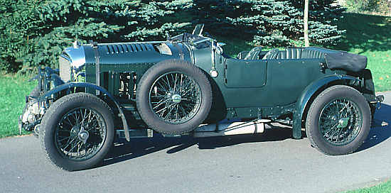 Bentley 4 1/2 Litre Supercharged, 1931, #MS3934, Vanden Plas Tourer
