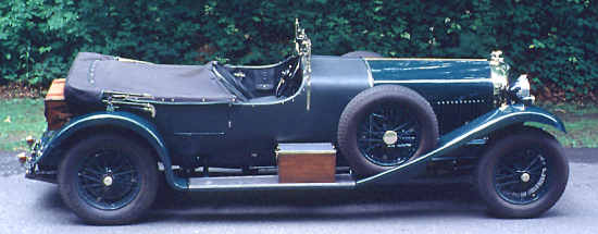 Bentley 6 1/2 Liter, H.J. Mulliner Weymann Tourer