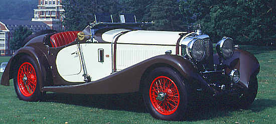 Bentley 6 1/2 Liter, Markham 2-Seater
