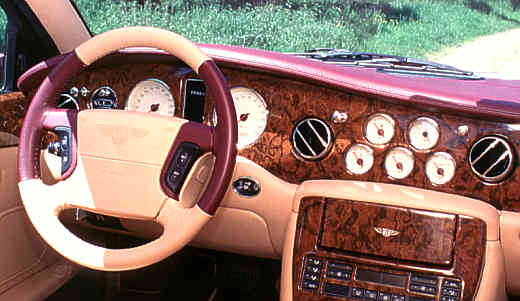 Bentley Arnage, 1998, Interior