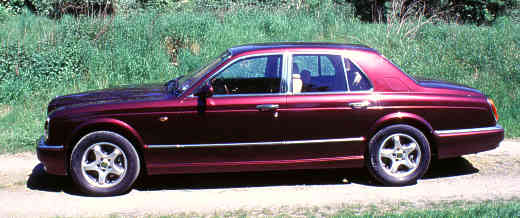 Bentley Arnage, 1998