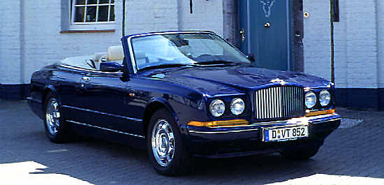 Bentley Azure, 1996, #SCBZK15CBTCX53730
