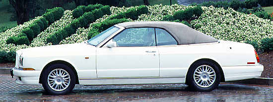 Bentley Azure, 1997, Pininfarina-designed Mulliner Park Ward Convertible