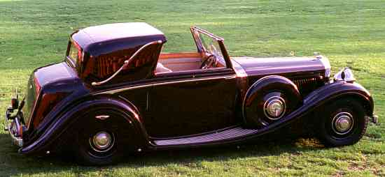 Bentley 4 ¼ Liter, 1939, #B79MX, H. J. Mulliner Sedanca Coupé