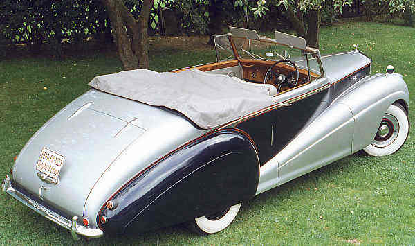 Bentley R, 1953, #B60RT, Park Ward Drophead Coupé