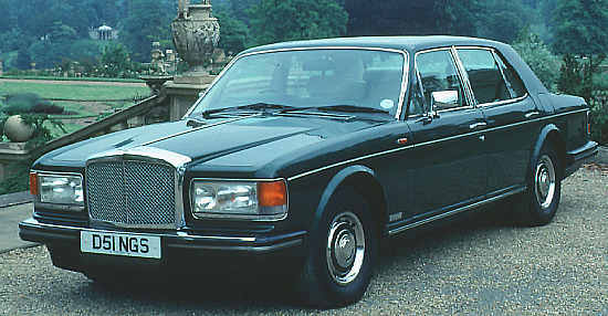 Bentley Eight, 1986, #GCH16326