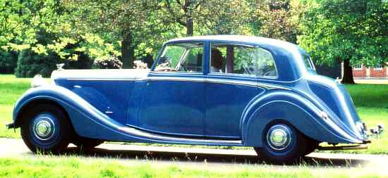 Bentley Mark V, 1939, #B30AW, H.J. Mulliner Saloon