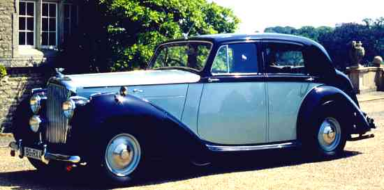 Bentley Mark VI, 1948, #B81DZ, Standard Steel Sports Saloon