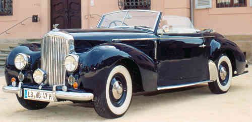 Bentley Mark VI, 1947, #B136BH, Graber drophead coupe