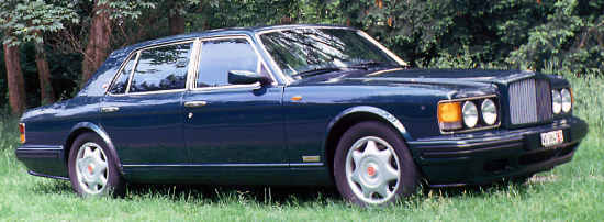 """New"" Bentley Turbo R, 1997, #SCBZP15CXVCX59629"