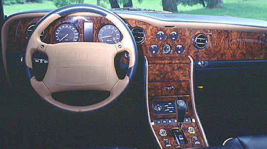"""New"" Bentley Turbo R, 1997, #SCBZP15CXVCX59629."