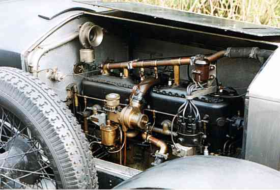 Rolls-Royce Silver Ghost, Engine