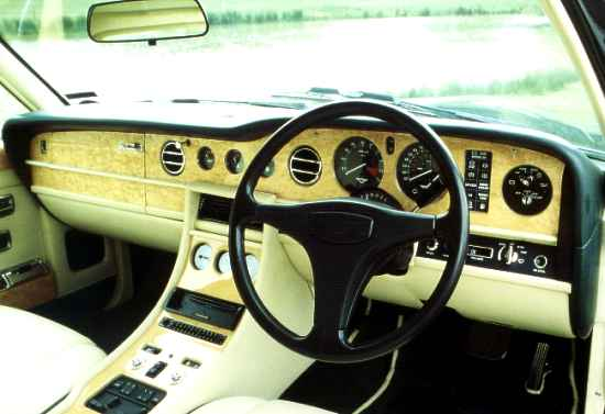 Hooper Two-Door Bentley Turbo R, Interior