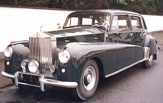 Rolls-Royce Silver Wraith by Nordberg