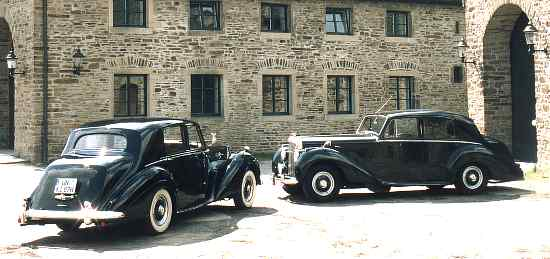 Rolls-Royce Silver Dawn / Bentley R