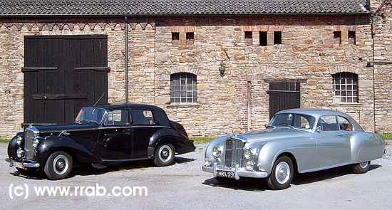 Bentley R-Type and Continental R