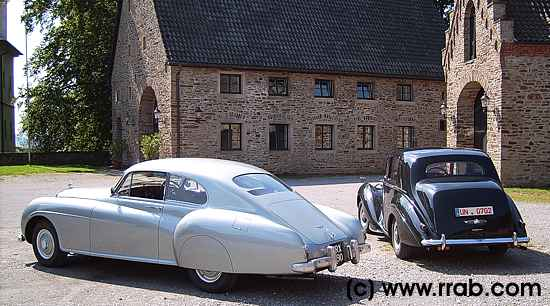 Bentley Continental R and R-Type