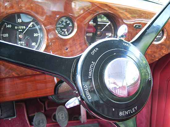 Bentley R Continental Dashboard