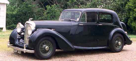 Bentley Mark V, 1940, #B18AW, Park Ward Four Door Saloon.