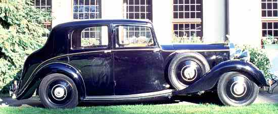 Rolls-Royce 25/30 H.P., Hooper Sports Saloon.