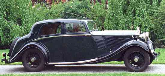 Rolls-Royce 20/25 H.P., 1935, #GLG62, Gurney Nutting Sports Saloon