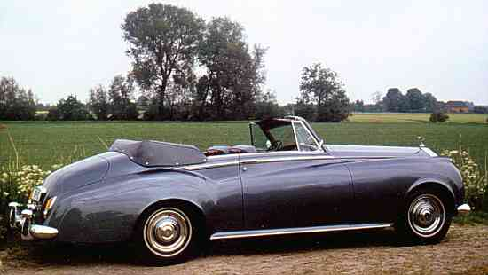 Rolls-Royce Silver Cloud II, 1962, #LSAE53; Drophead Coupé