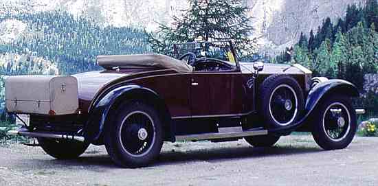 Rolls-Royce Silver Ghost, Brewster Playboy Roadster