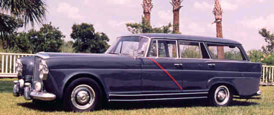 Bentley S2 LWB LHD, #LLBA9