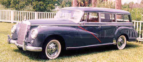 Mercedes Benz 300S - Shooting Brake Conversion by Wendler